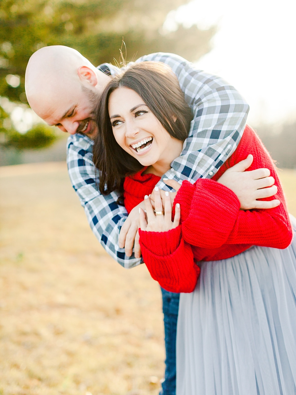 engagement photography filled with light and love